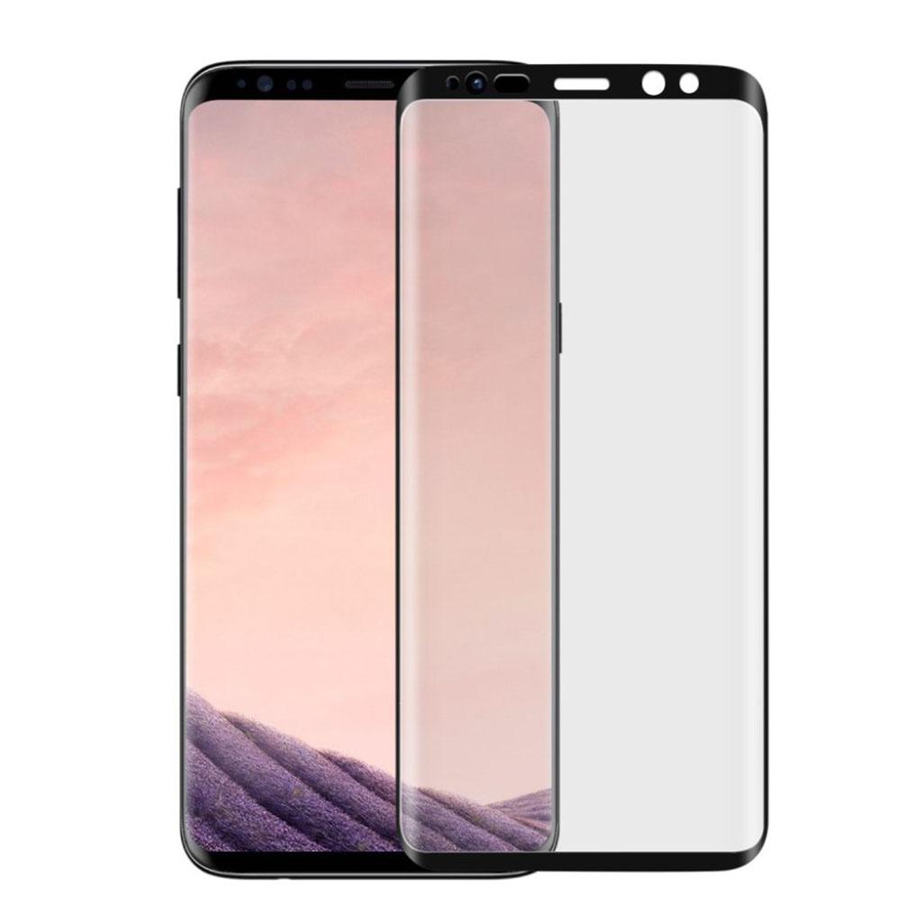 ANGIBABE Samsung Galaxy S9 Plus 0.26mm hærdet glas skærmbeskytter - Sort