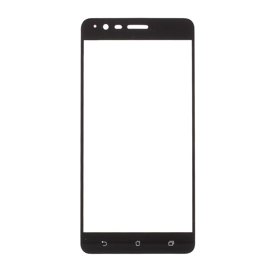 Asus Zenfone Zoom S (ZE553KL) panserglas - Sort