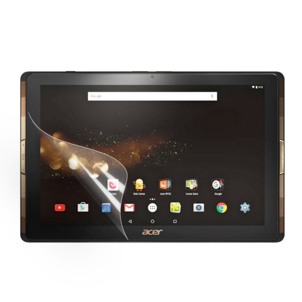 Acer Iconia Tab 10 A3-A40 Ultra klart beskyttelsesfilm 3 stk pakke