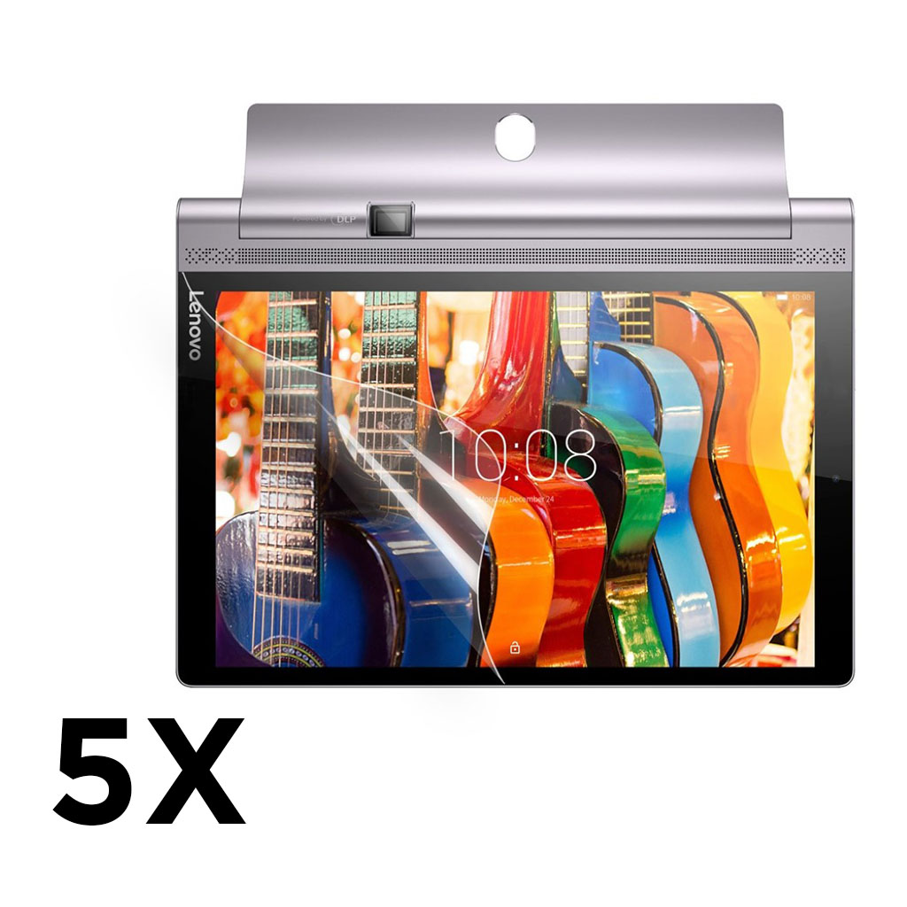 Ultra Clear LCD skærmbeskyttelsesfilm til Lenovo Yoga Tab 3 Pro 10.1 - 5 stk.