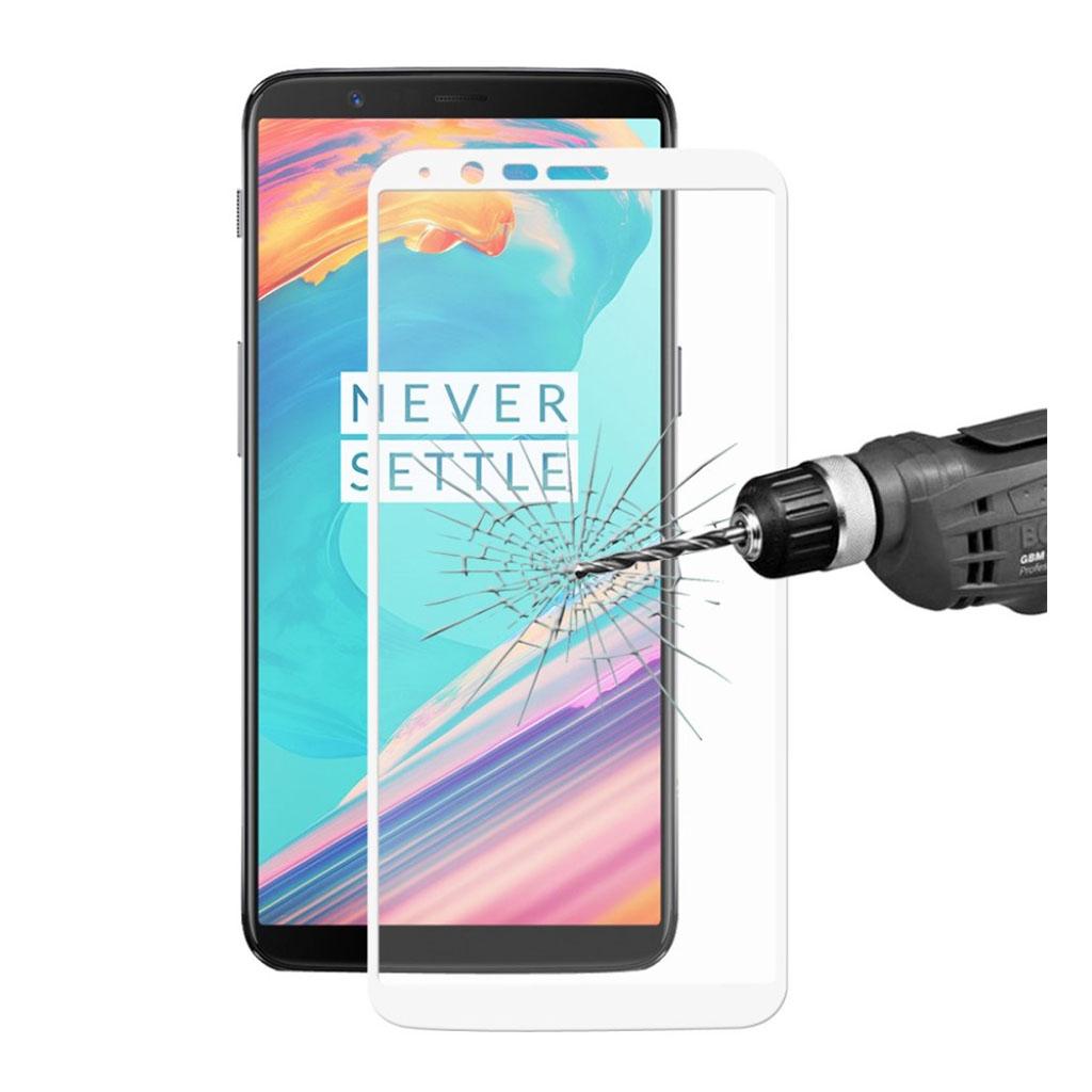 ENKAY OnePlus 5T glas i høj kvalitet - sort kant