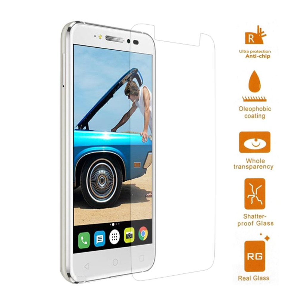 Image of   Alcatel Shine Lite Arc Edge beskyttelses-skærm i hærdet glas