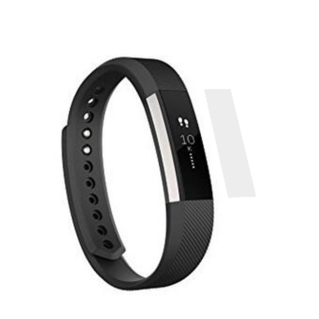 Image of   Fitbit Alta full coverage HD clear screen protector tempered glass