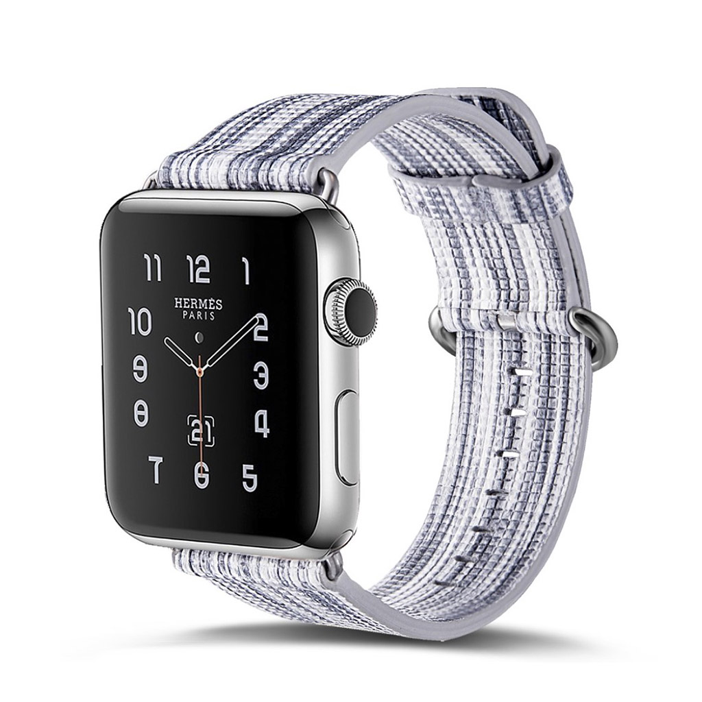 Image of   Apple Watch 42mm urrem i ægte læder - Style I