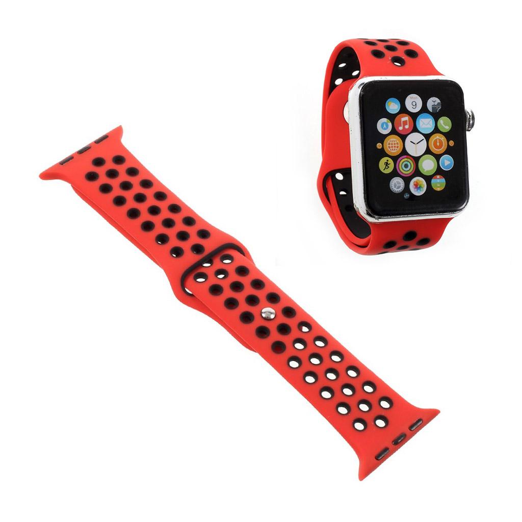 Image of   Apple Watch 38mm silikone rem - Rød