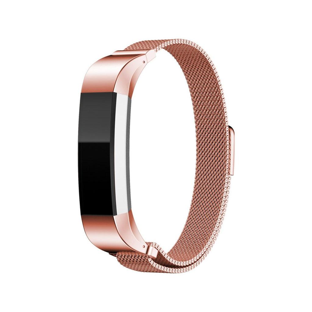 Image of   Fitbit Alta urrem af rustfrit stål - Pink