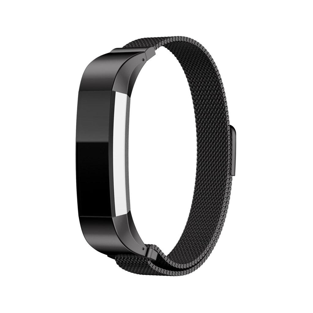 Image of   Fitbit Alta urrem af rustfrit stål - Sort