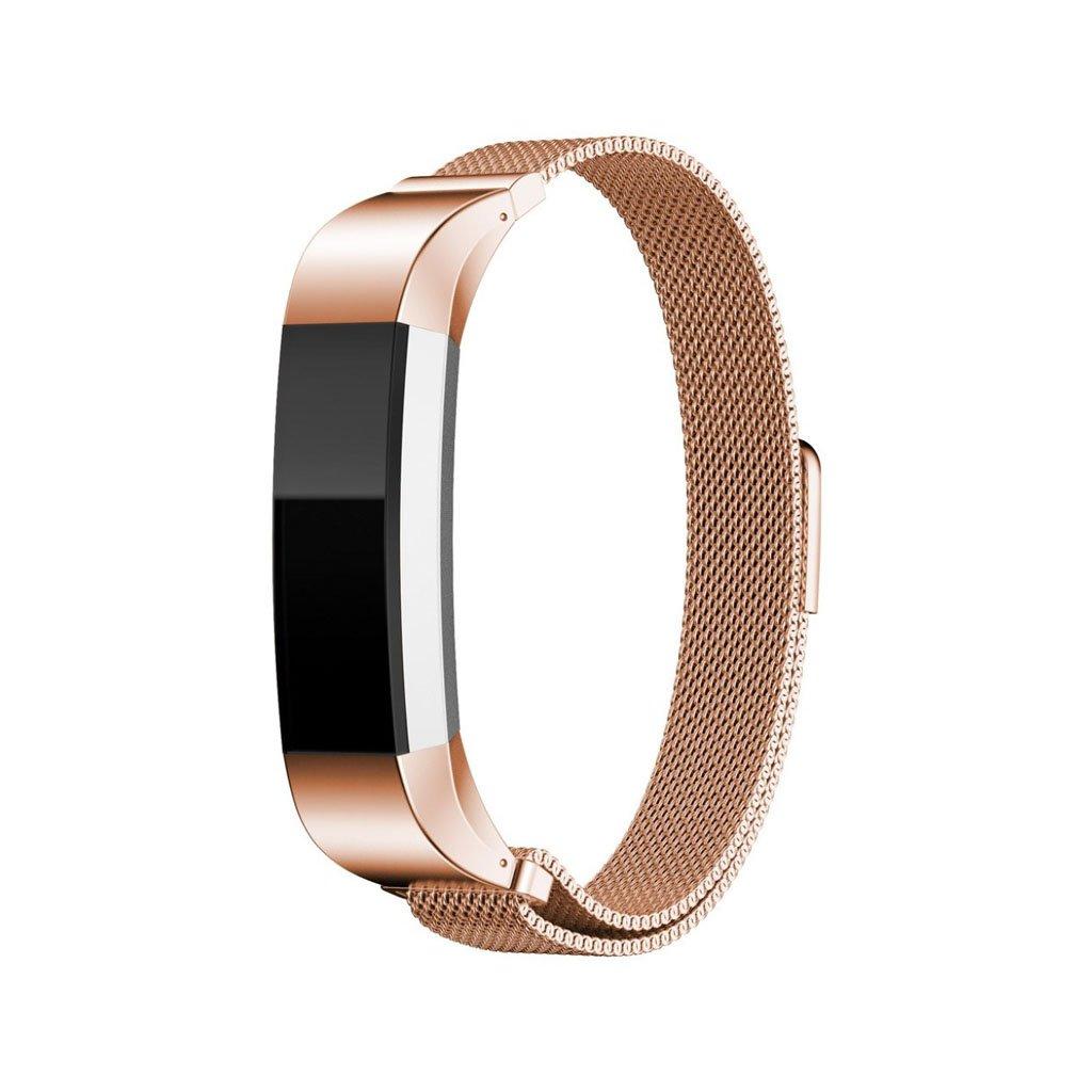 Image of   Fitbit Alta urrem af rustfrit stål - Rødguld
