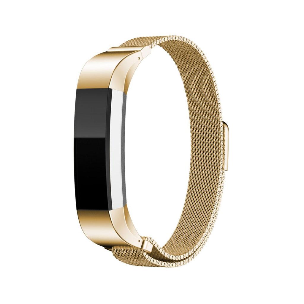 Image of   Fitbit Alta urrem af rustfrit stål - Guld