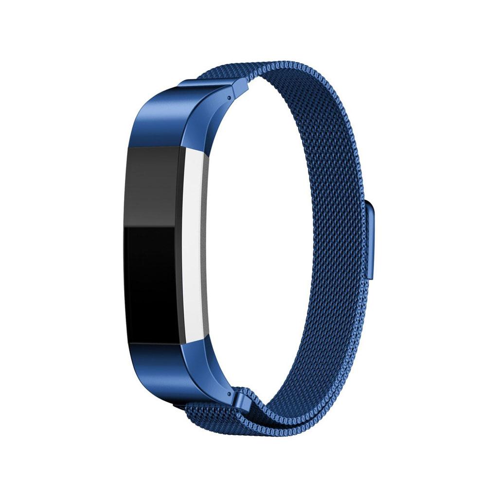 Image of   Fitbit Alta urrem af rustfrit stål - Blå