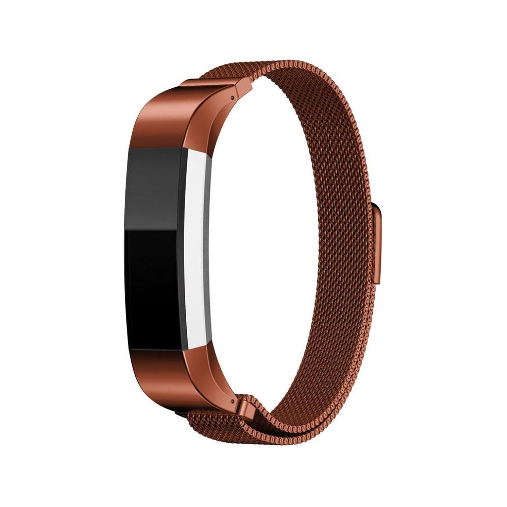Image of   Fitbit Alta urrem af rustfrit stål - Kaffe