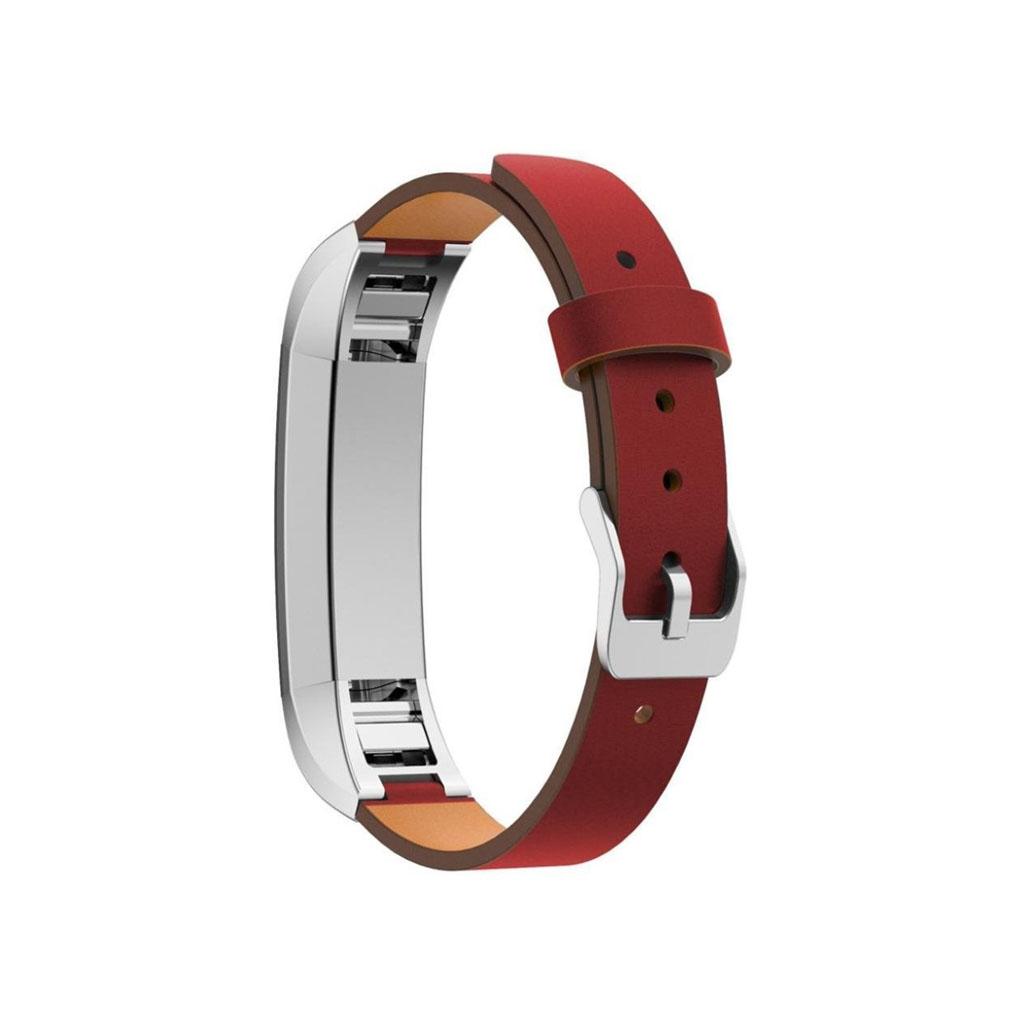 Image of   Fitbit Alta urrem af ægte læder - Rød