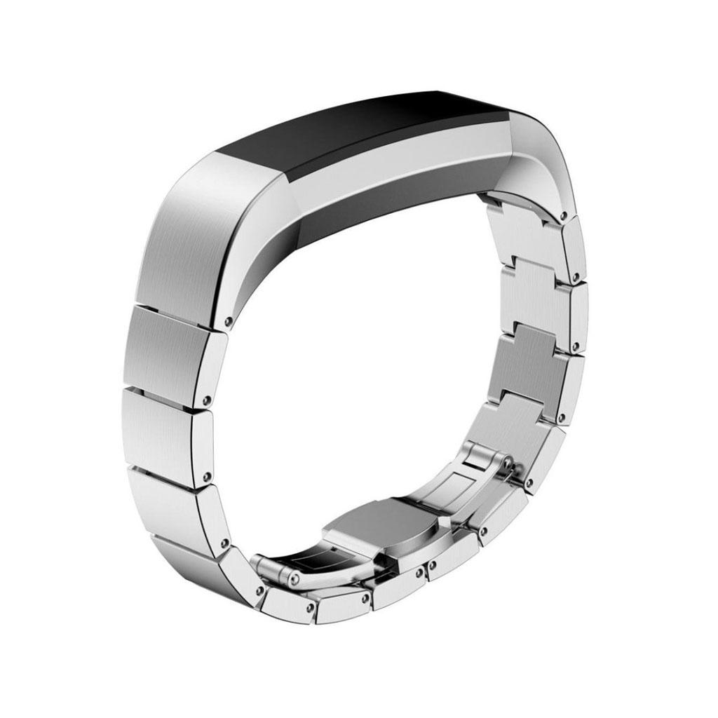 Image of   Fitbit Alta urrem af rustfrit stål - Sølv
