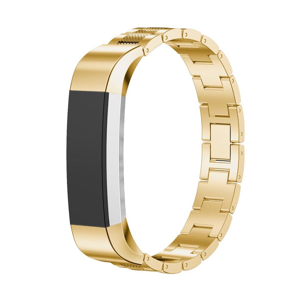 Image of   Fitbit Alta armbånd af rustfri stål - Guld