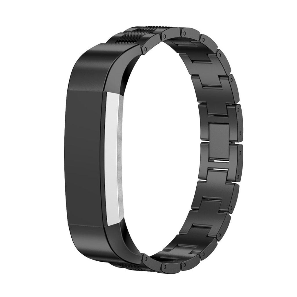 Image of   Fitbit Alta armbånd af rustfri stål - Sort