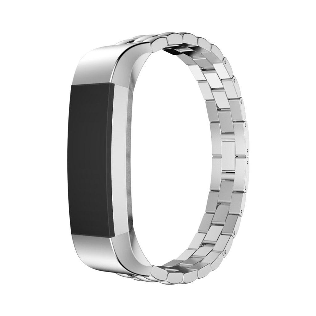 Image of   Fitbit Alta armbånd af rustfri stål - Sølv