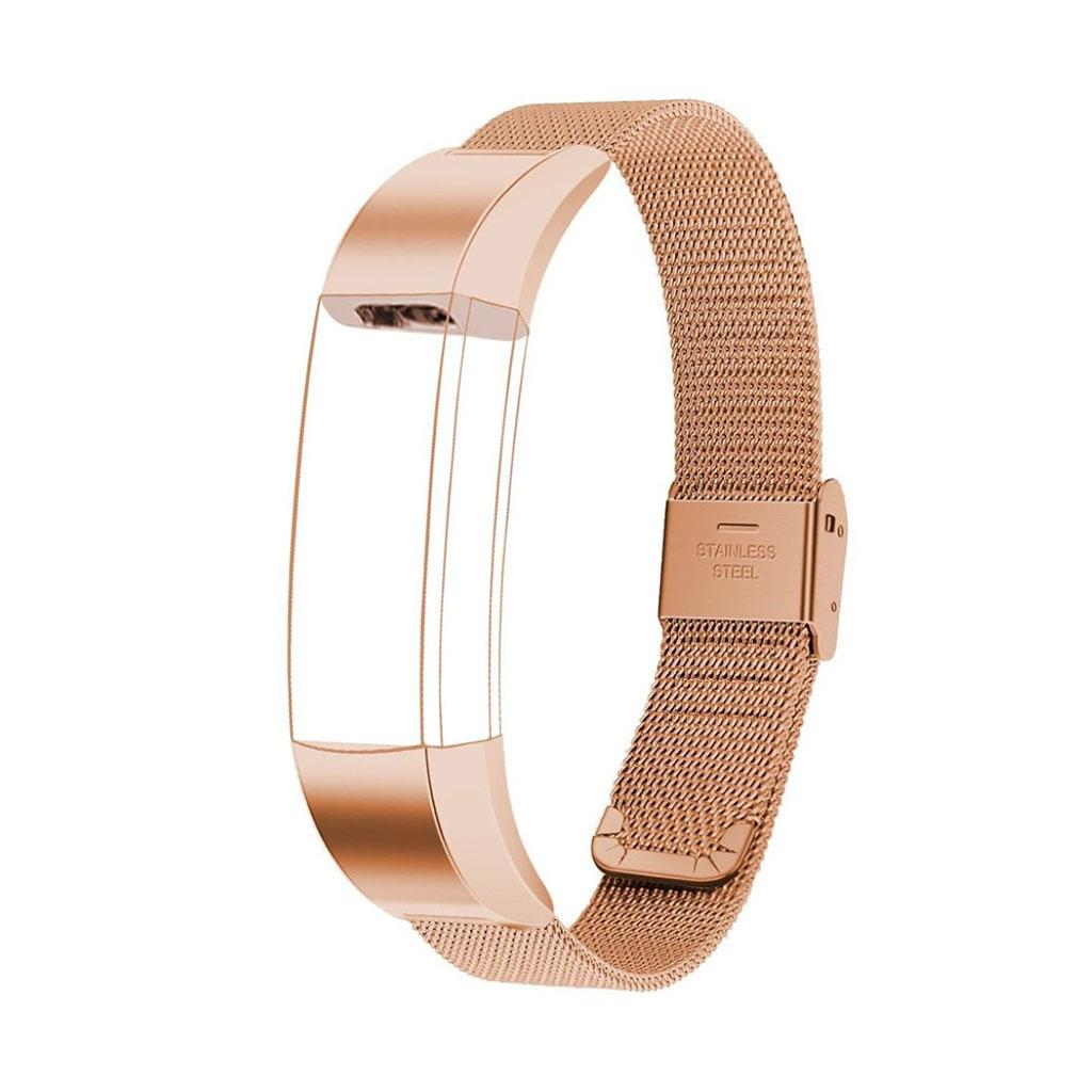 Image of   Fitbit Alta galvaniseret stålurrem - Rødguld