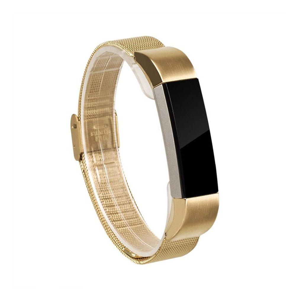 Image of   Fitbit Alta galvaniseret stålurrem - Guld