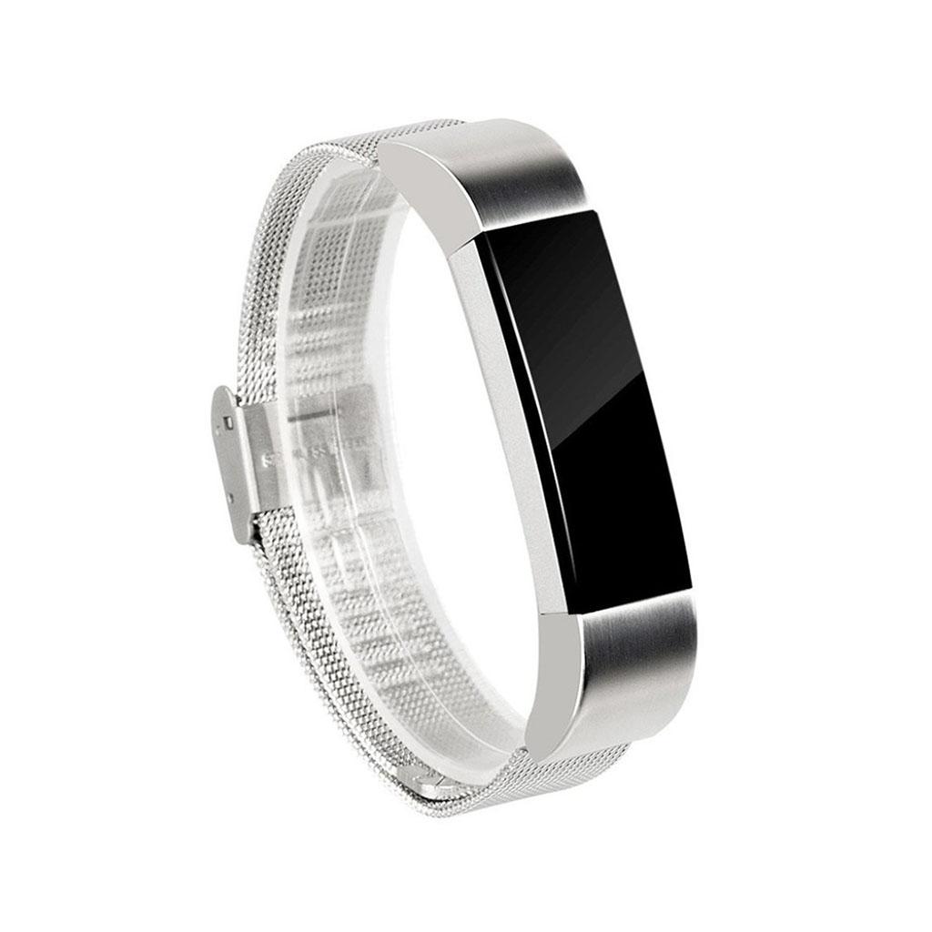 Image of   Fitbit Alta galvaniseret stålurrem - Sølv
