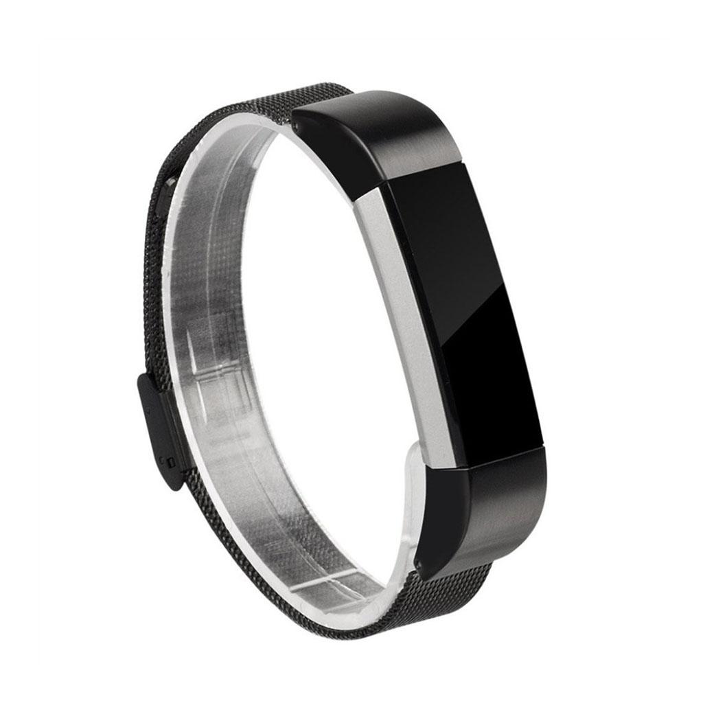 Image of   Fitbit Alta galvaniseret stålurrem - Sort