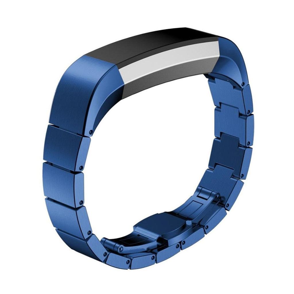 Image of   Fitbit Alta galvaniseret stål urrem - Blå