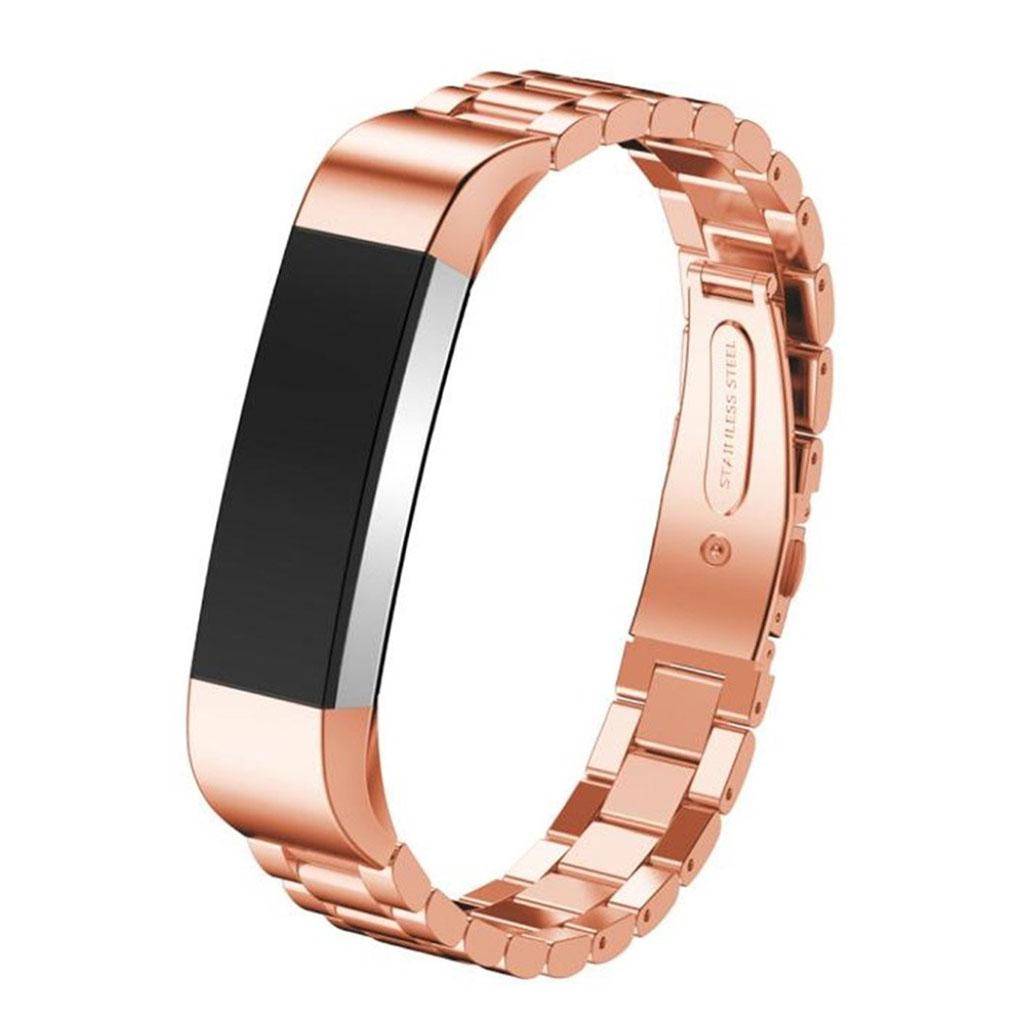 Image of   Fitbit Alta rem af rustfri stål - Rødguld