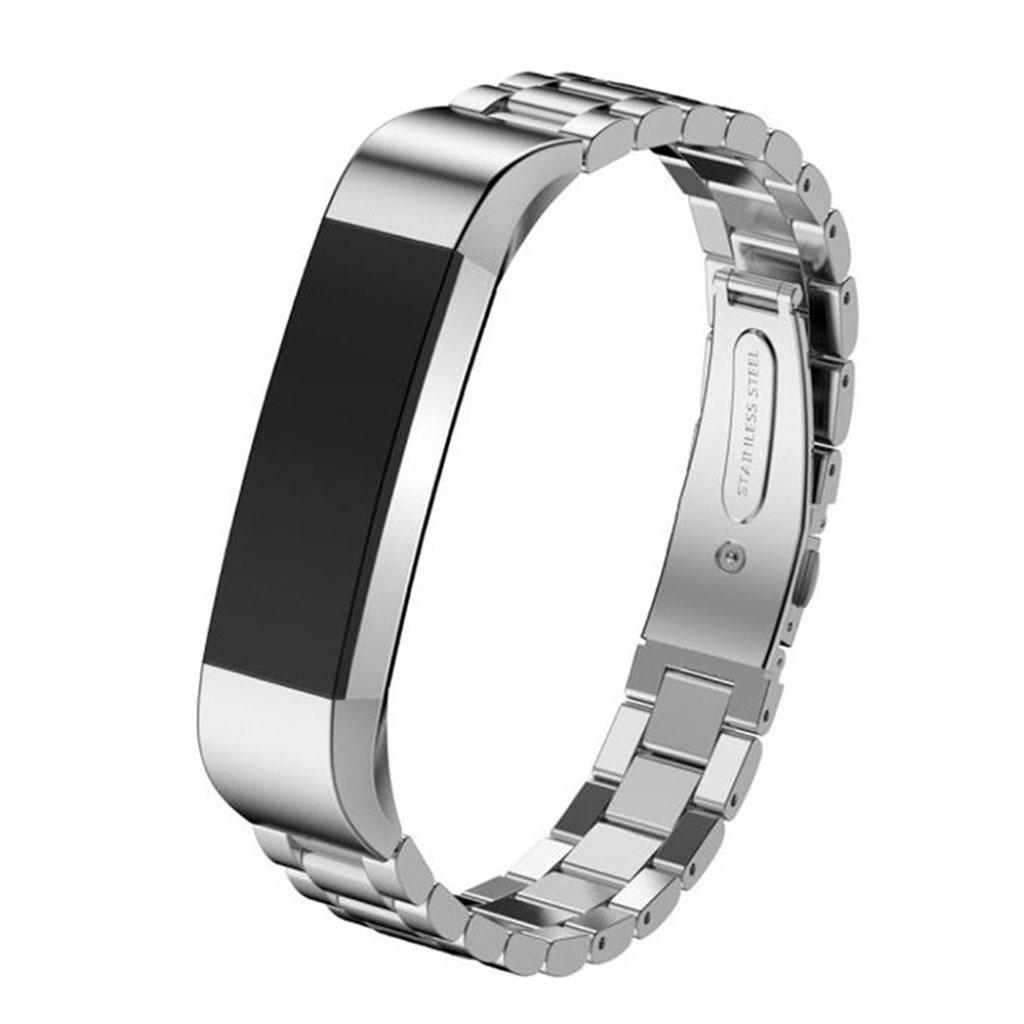 Image of   Fitbit Alta rem af rustfri stål - Sølv