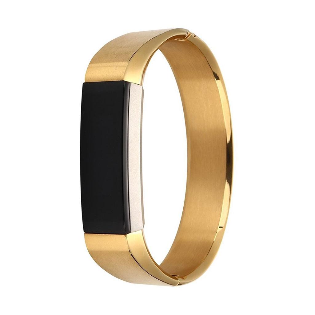 Image of   Fitbit Alta urrem af rustfri stål - Guld