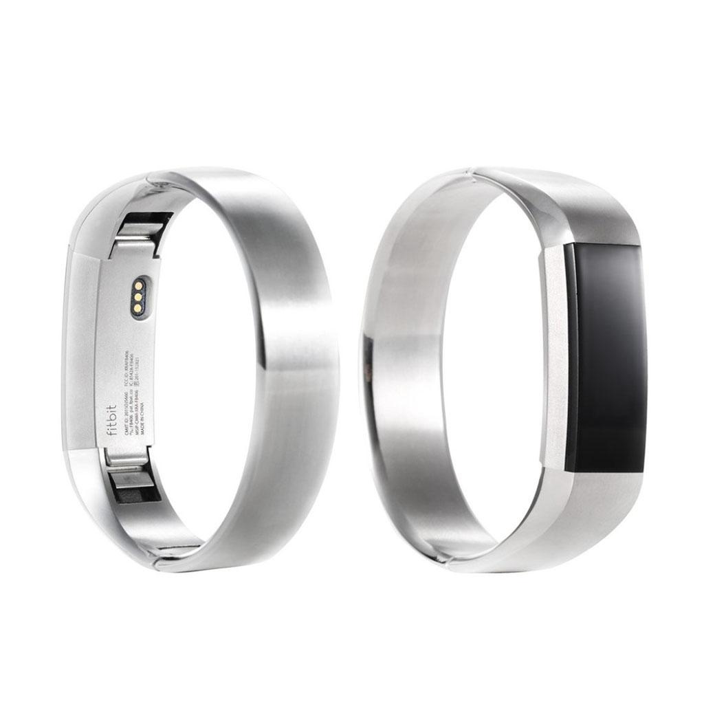 Image of   Fitbit Alta rustfrit stål ur-rem af rustfrit stål - Sølv