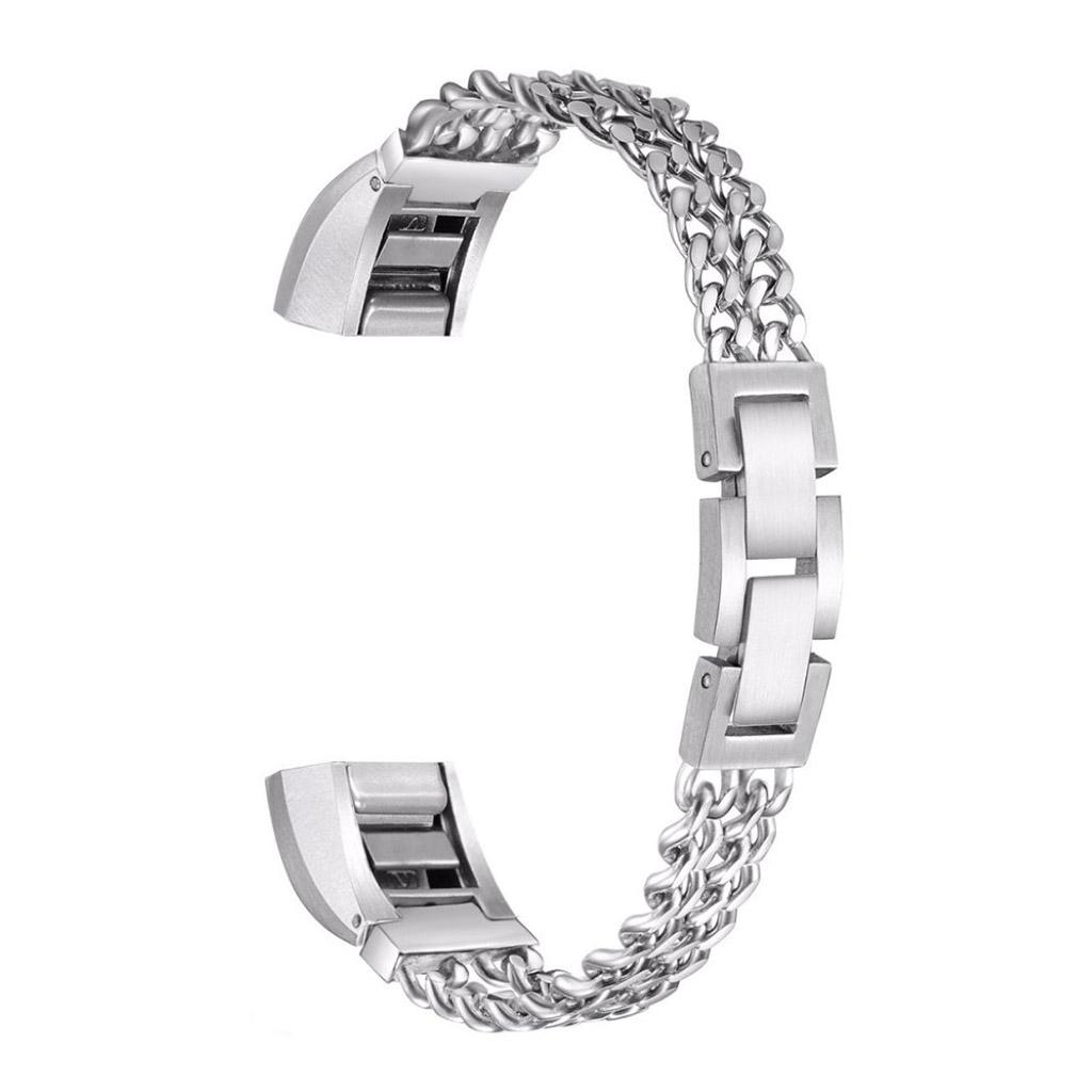 Image of   Fitbit Alta 316L rustfri stål armbåndsrem - Sølv