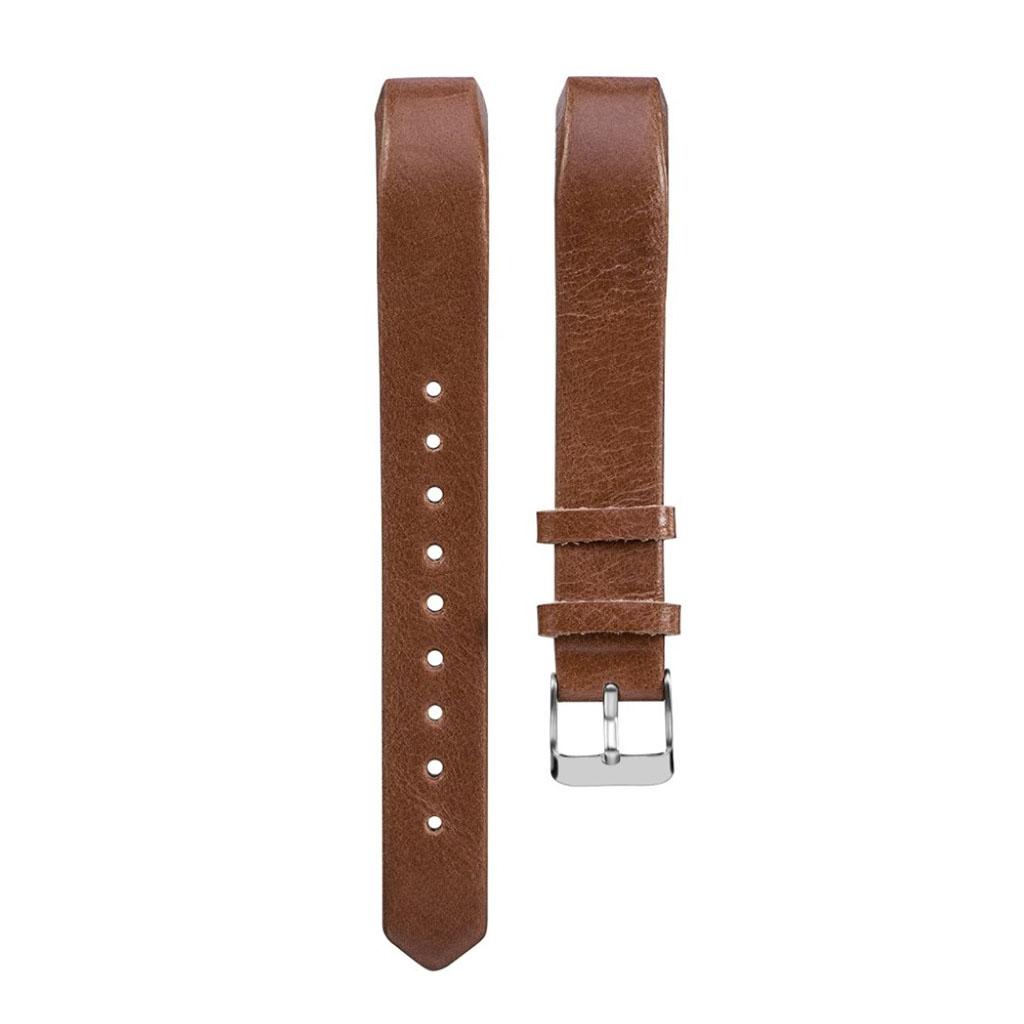 Image of   Fitbit Alta rem i ægte læder - Mørkebrun