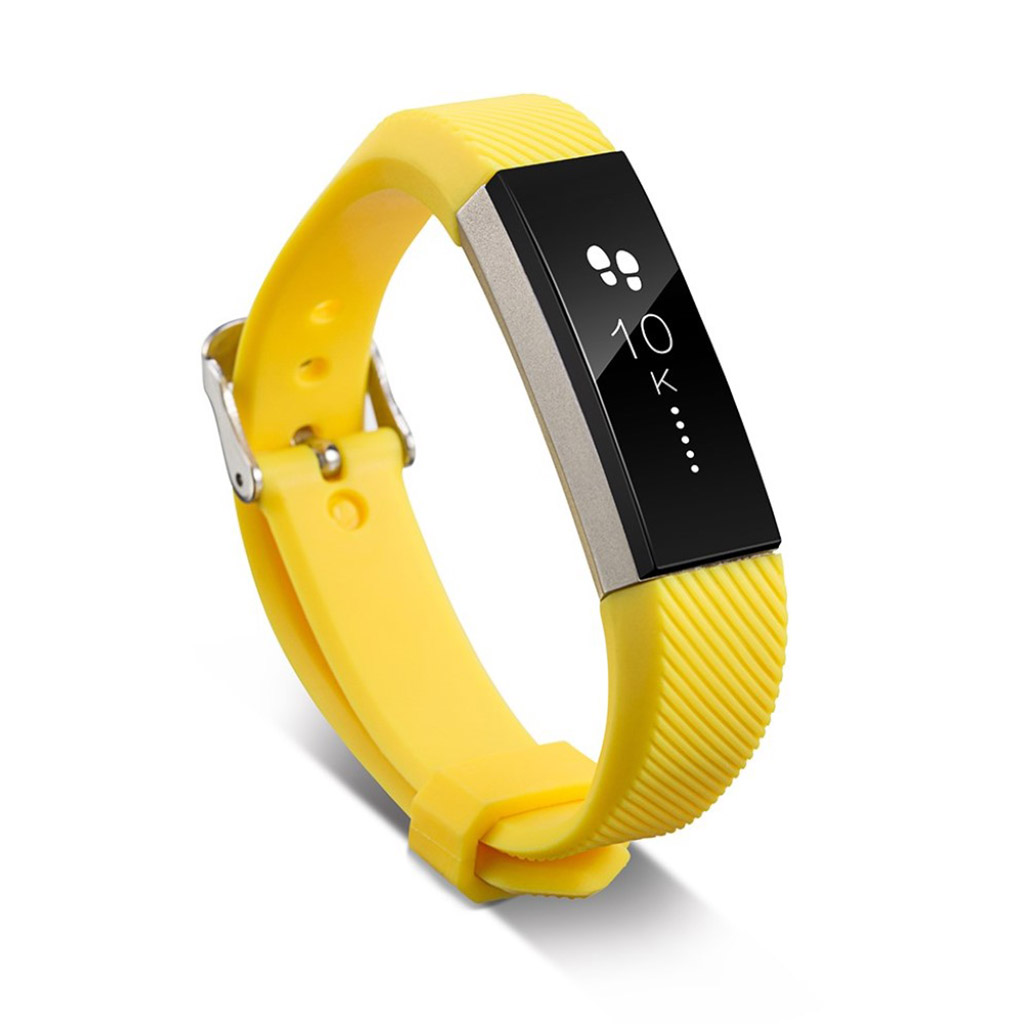 Image of   Fitbit Alta sports watch strap - Yellow