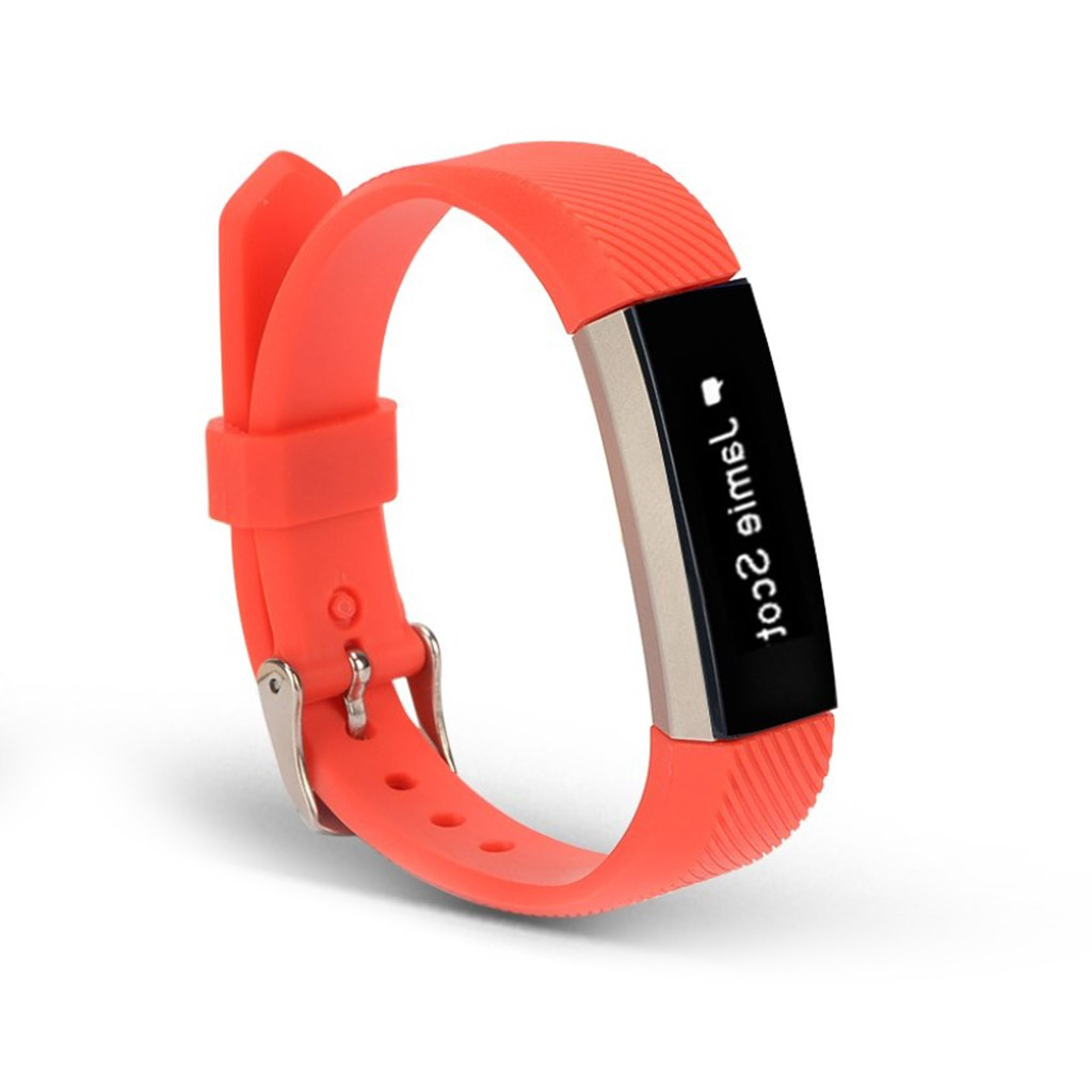 Image of   Fitbit Alta sports watch strap - Red