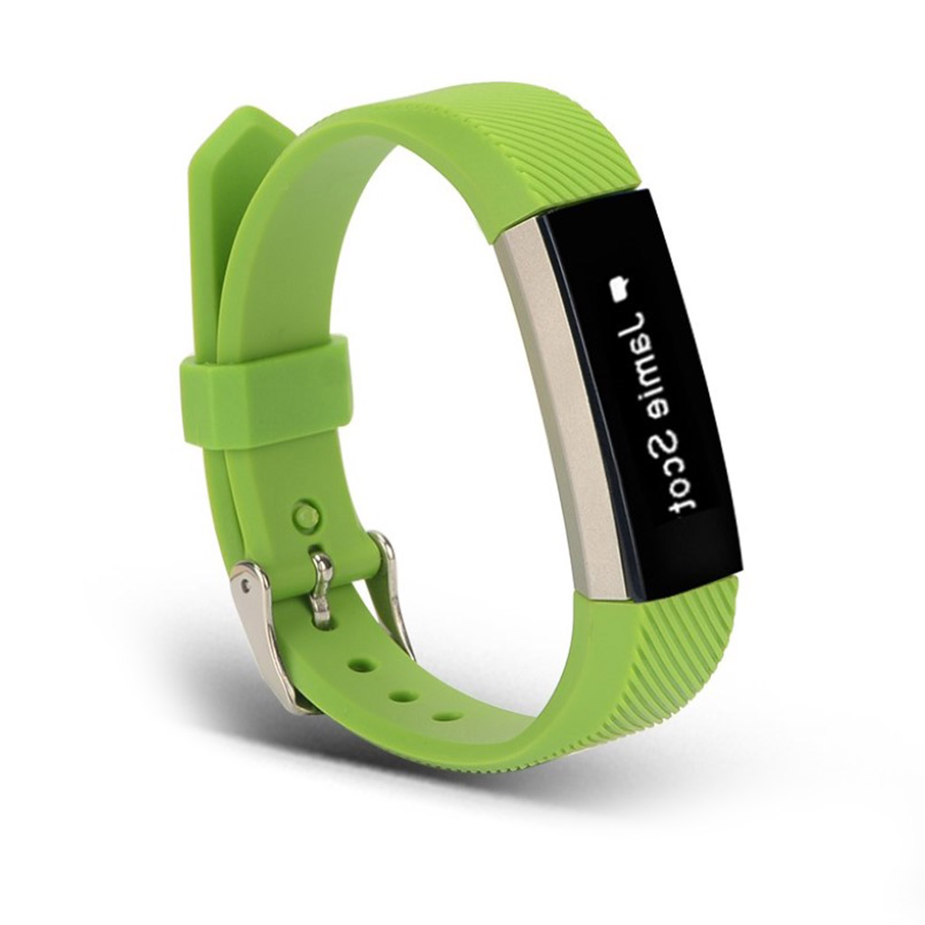Image of   Fitbit Alta twill texture sports watch strap - Green