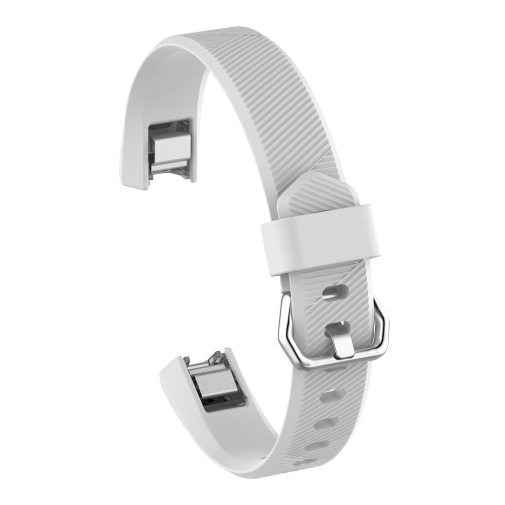 Image of   Fitbit Alta adjustable TPU sports watch strap - White