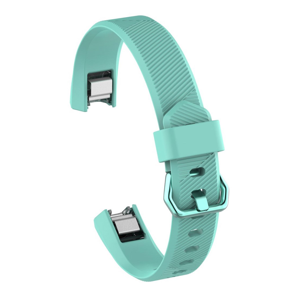 Image of   Fitbit Alta adjustable TPU sports watch strap - Cyan
