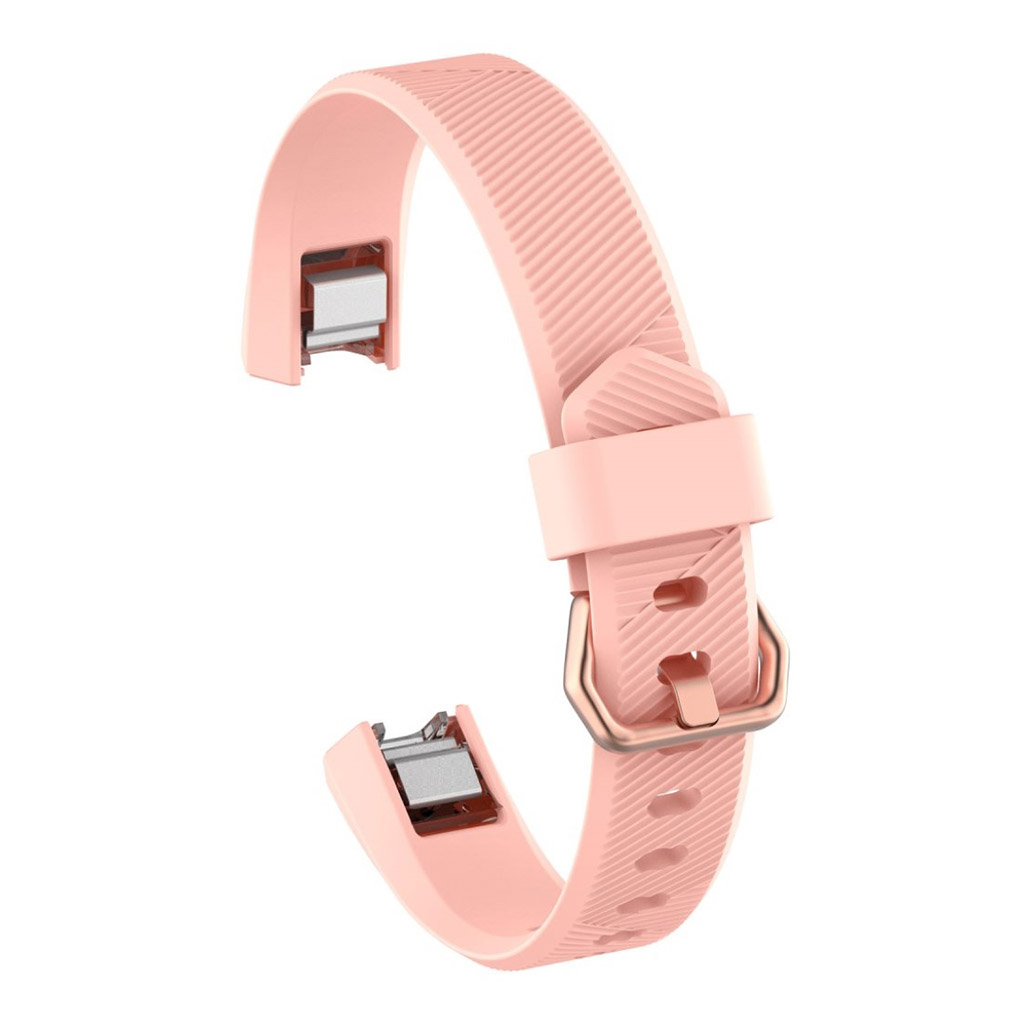 Image of   Fitbit Alta adjustable TPU sports watch strap - Pink