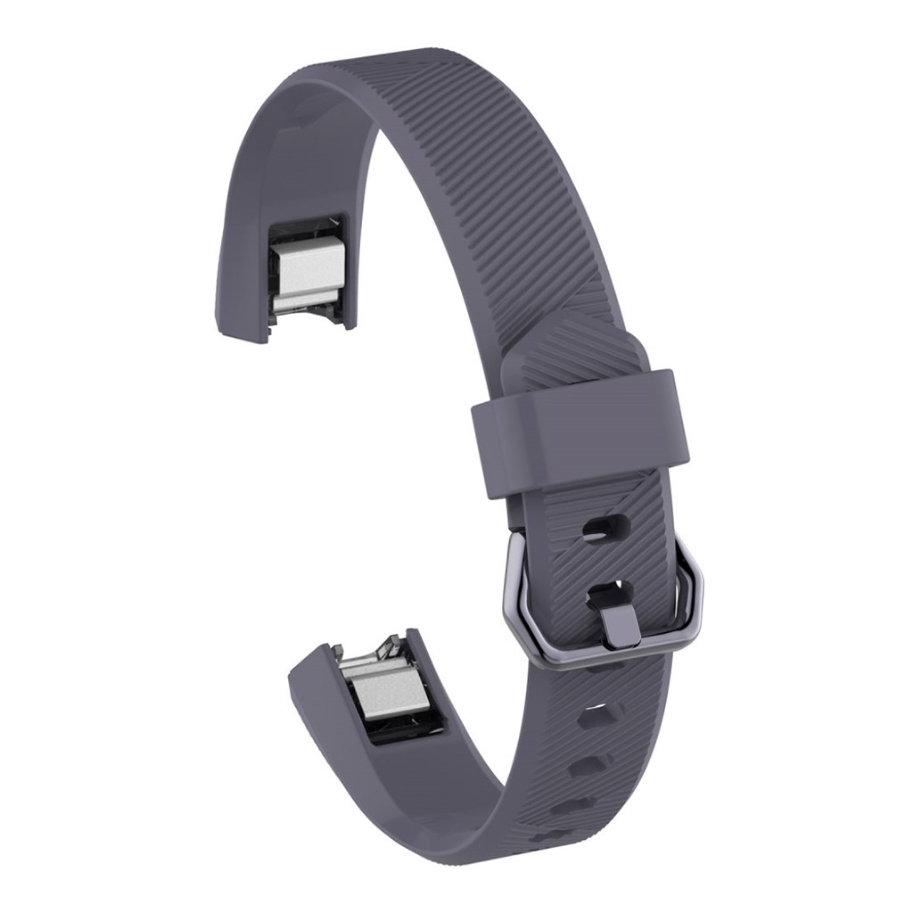 Image of   Fitbit Alta adjustable TPU sports watch strap - Grey