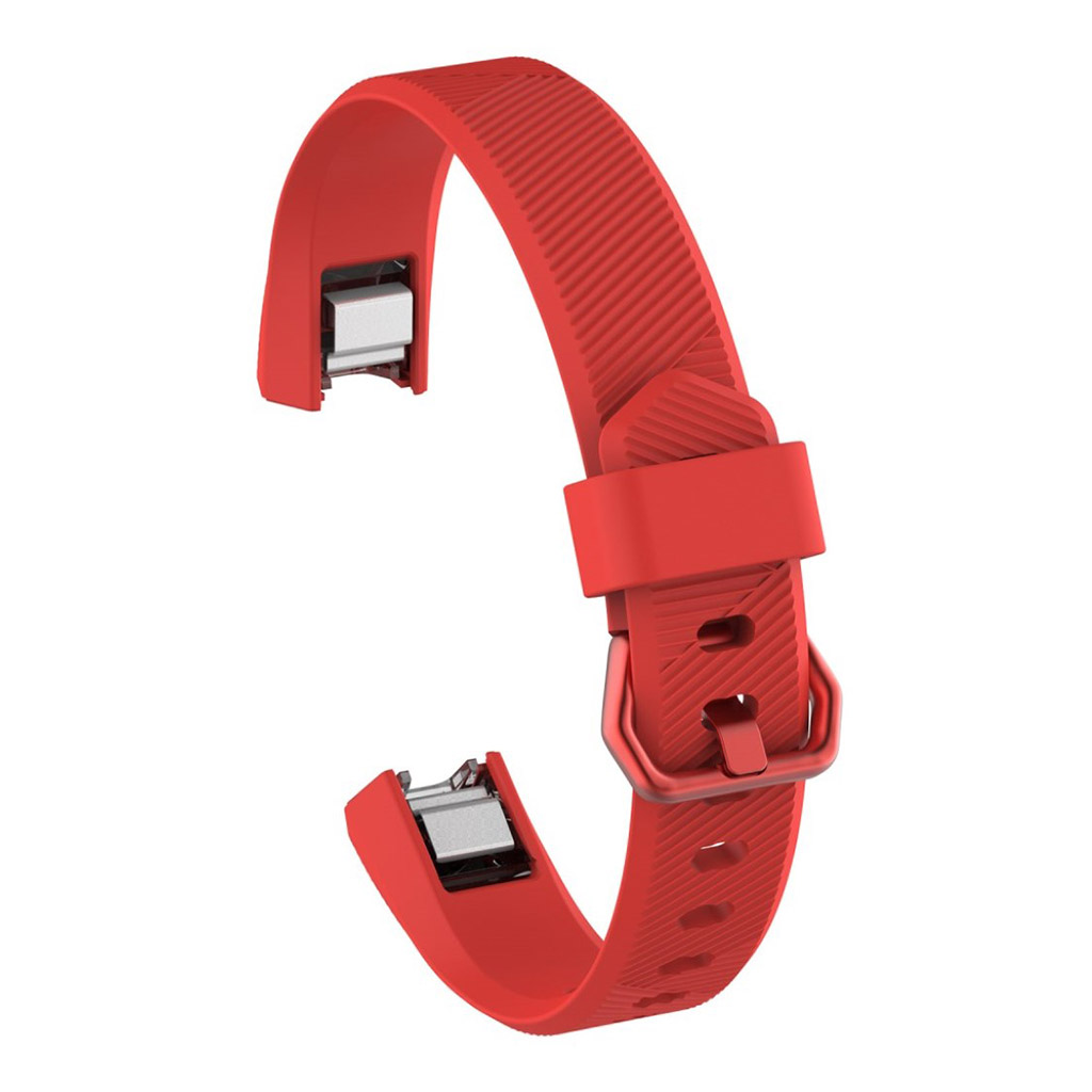 Image of   Fitbit Alta adjustable TPU sports watch strap - Red