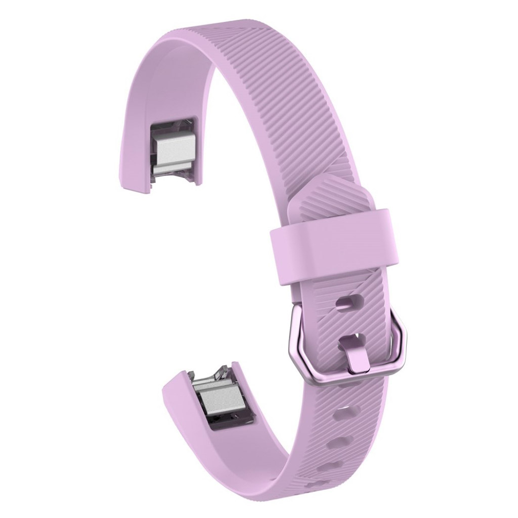 Image of   Fitbit Alta soft TPU sports watch strap - Purple