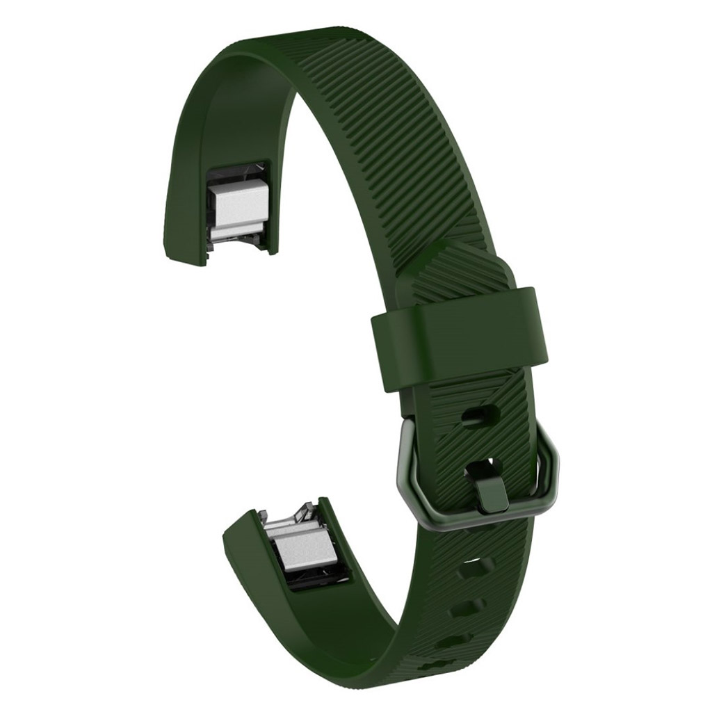 Image of   Fitbit Alta TPU sports watch strap - Army Green