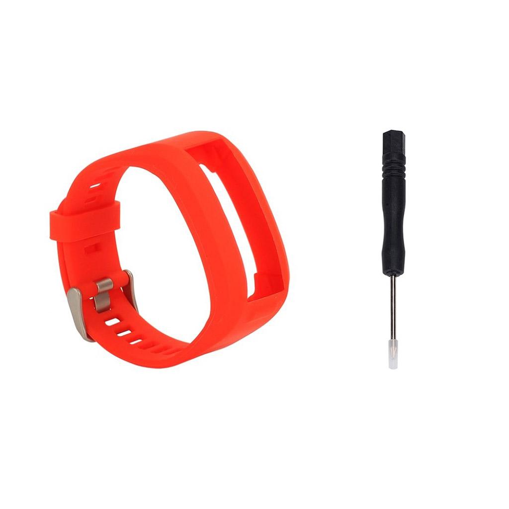 Garmin Vivosmart HR Silikone rem med værktøj - Rød