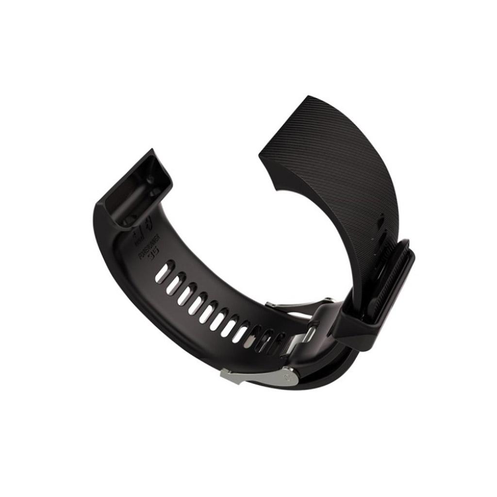 Image of   Garmin Forerunner 35 Silikone rem - Sort