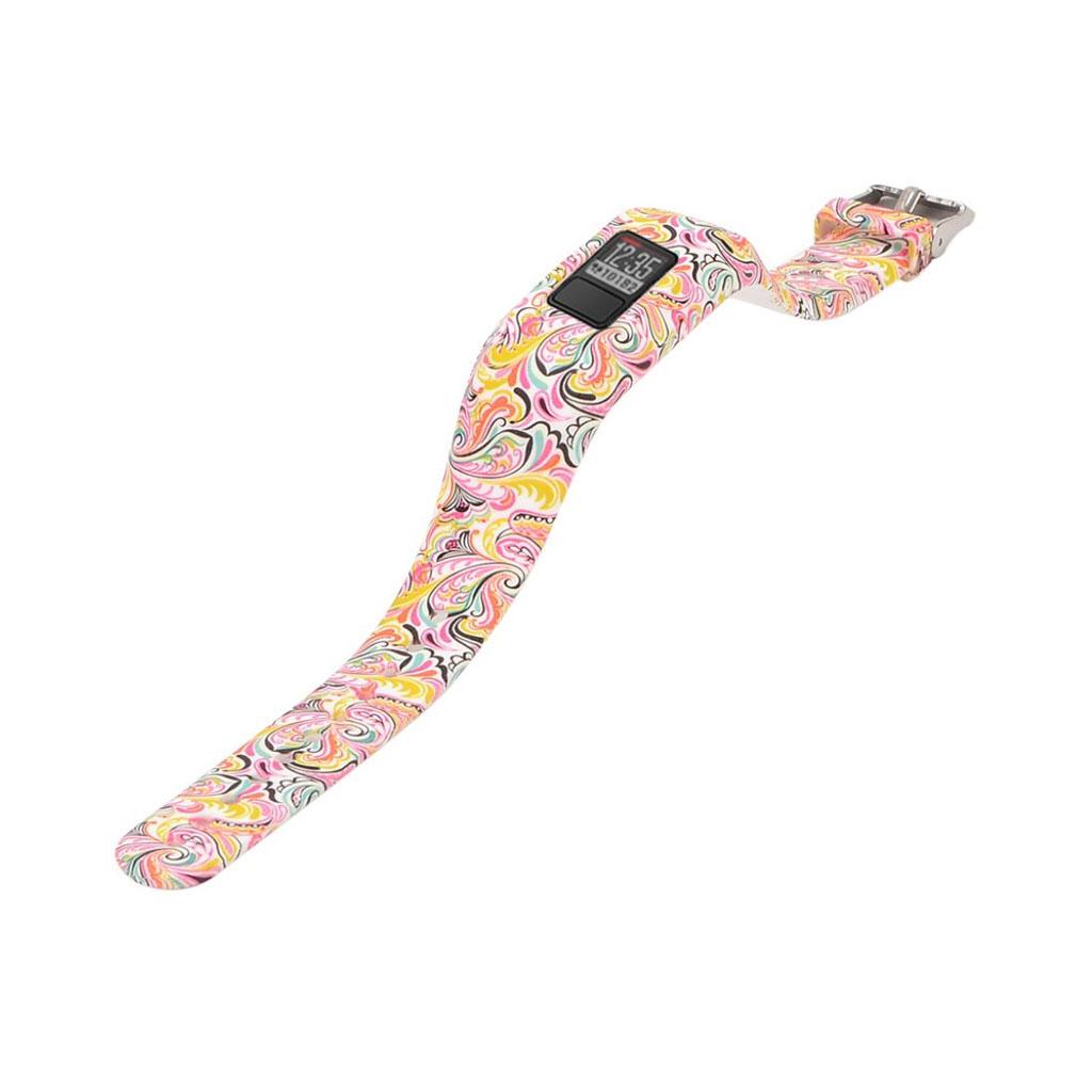 Image of   Garmin Vivofit JR pattern printing sports watch strap - Facial Makeup