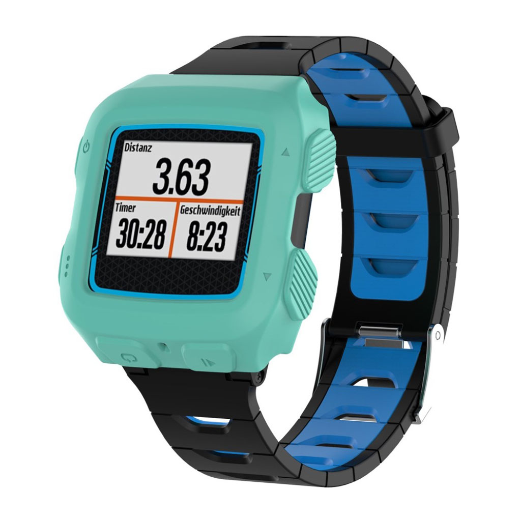 Image of   Garmin Forerunner 920XT flexible silicone case - Cyan