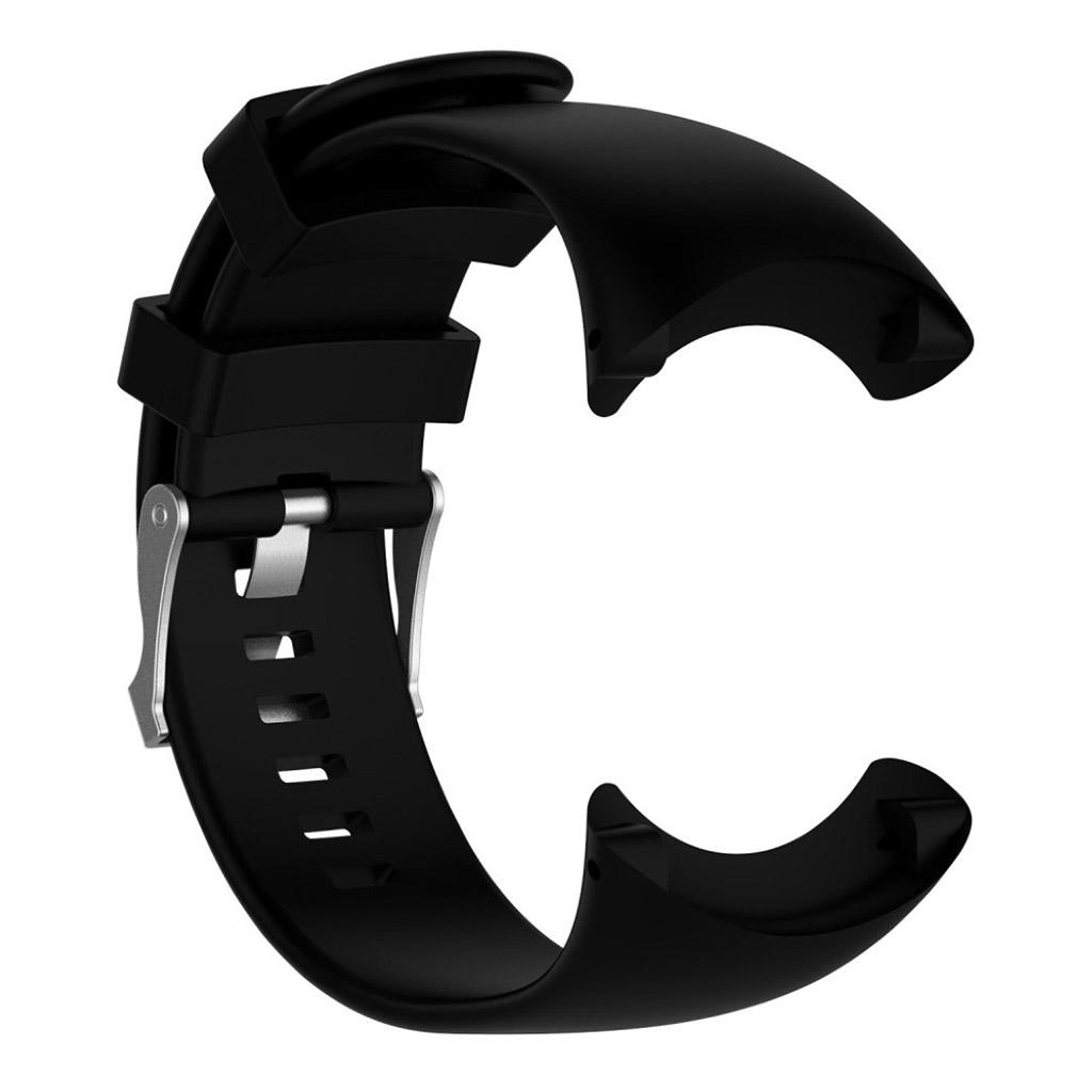 Image of   Suunto Core Alu Black Silikone rem med metal spænde - Sort