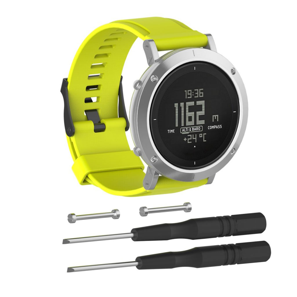 Image of   Suunto Essential silicone watchband - Green