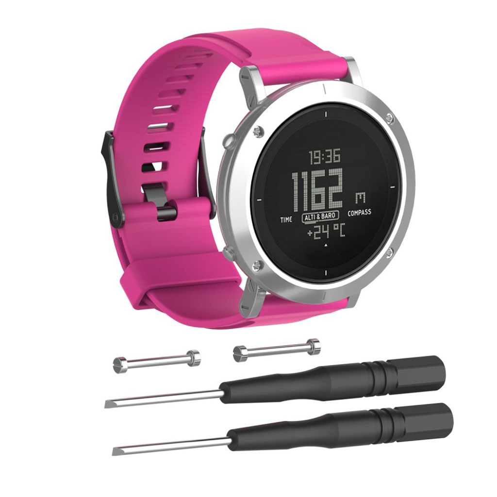 Image of   Suunto Essential silicone watchband - Rose
