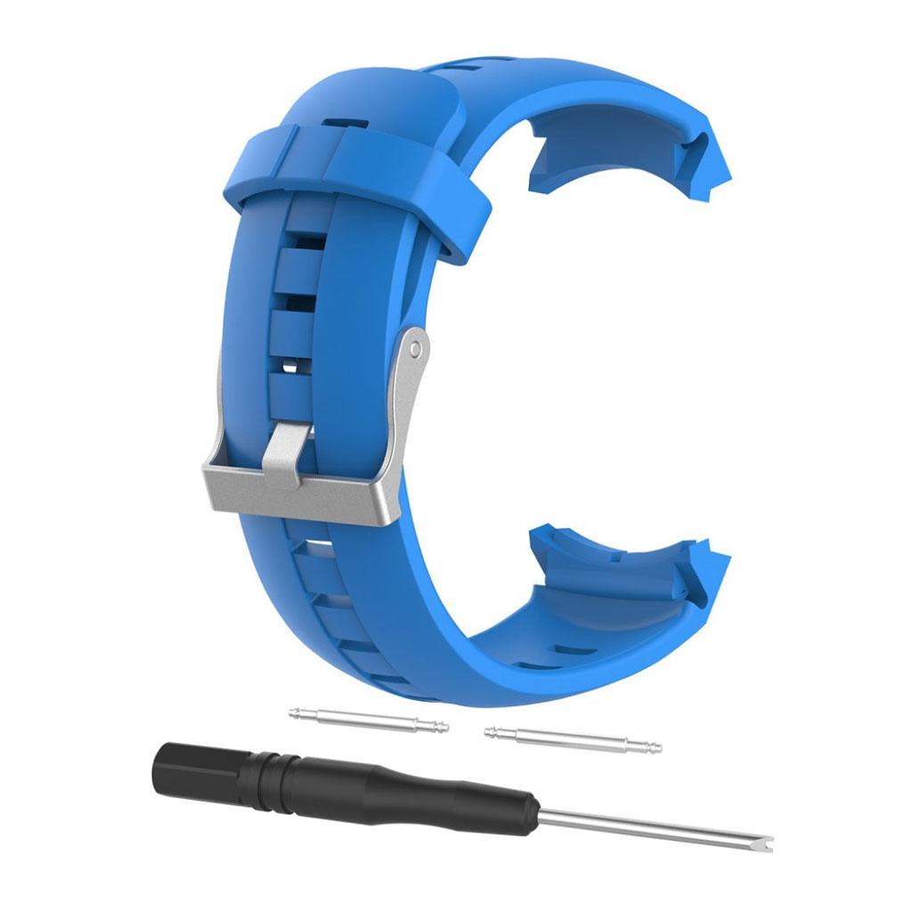 Image of   Suunto Spartan Sport silicone watch strap - Blue