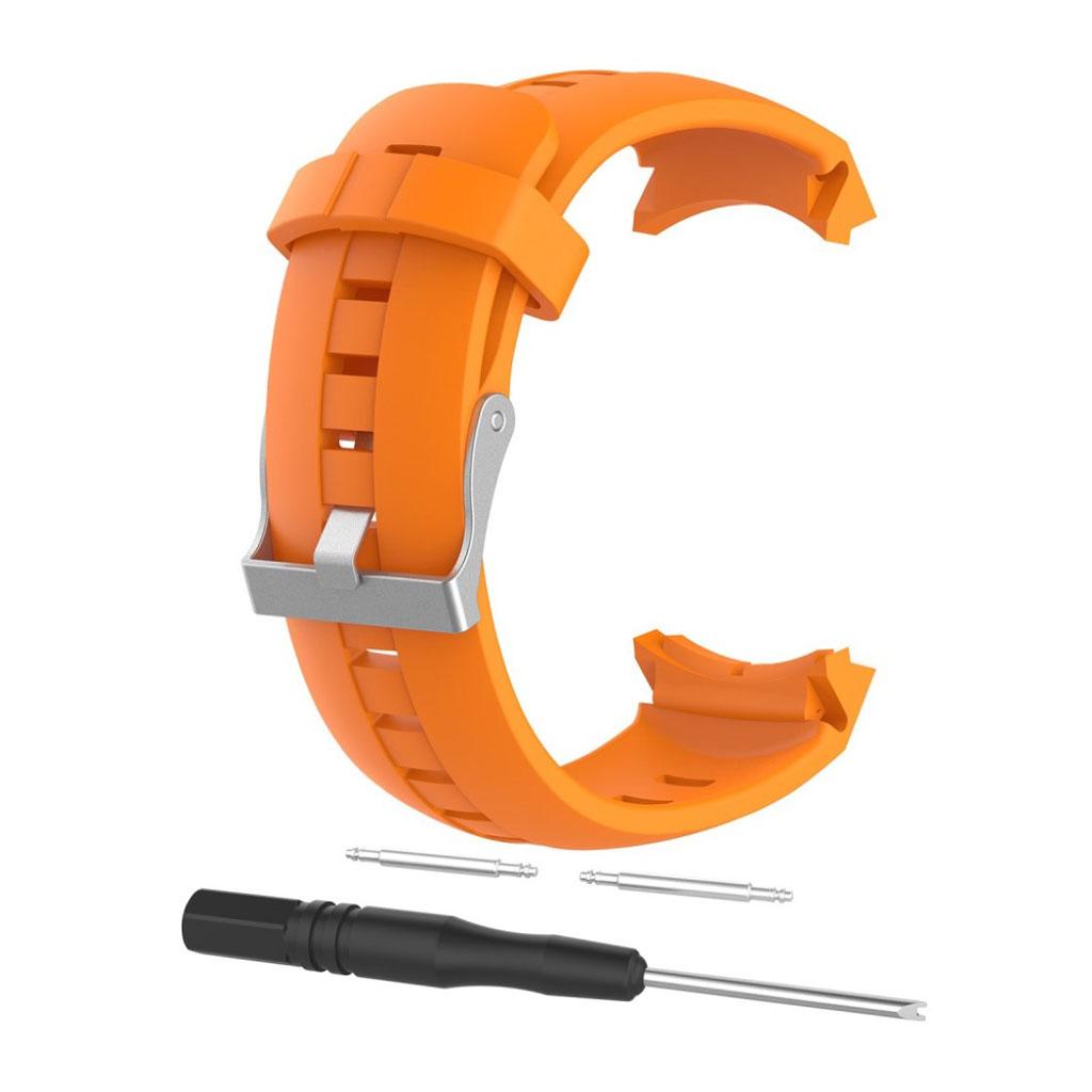 Image of   Suunto Spartan Sport silicone watch strap - Orange